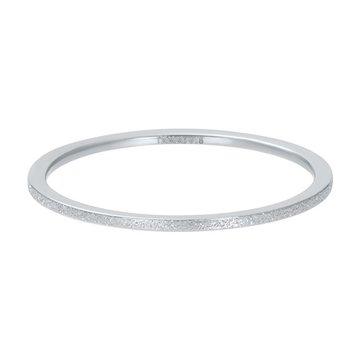 iXXXi Jewelry iXXXi Jewelry Losse Ring Sandblasted 1mm Zilverkleurig