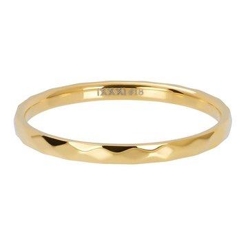 iXXXi Jewelry iXXXi Jewelry Losse Ring Hammerite Goudkleurig