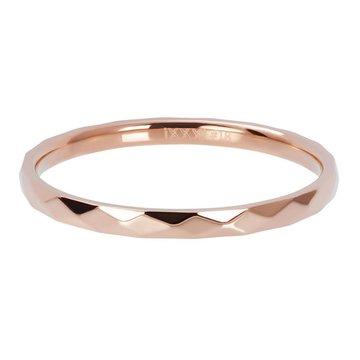 iXXXi Jewelry iXXXi Jewelry Losse Ring Hammerite Rosé