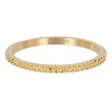 iXXXi Jewelry iXXXi Jewelry Losse Ring Caviar Goudkleurig