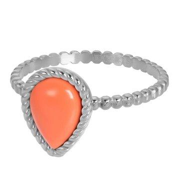 iXXXi Jewelry iXXXi Jewelry Losse Ring Magic Coral Zilverkleurig