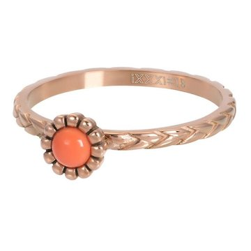 iXXXi Jewelry iXXXi Jewelry Losse Ring Inspired Coral Rosé
