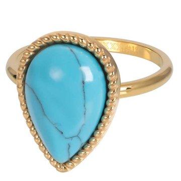 iXXXi Jewelry iXXXi Jewelry Losse Ring Rhapsody Goudkleurig