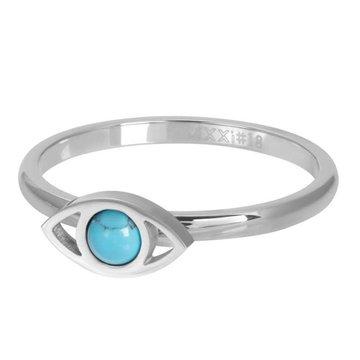 iXXXi Jewelry iXXXi Jewelry Losse Ring Lucky Eye Zilverkleurig