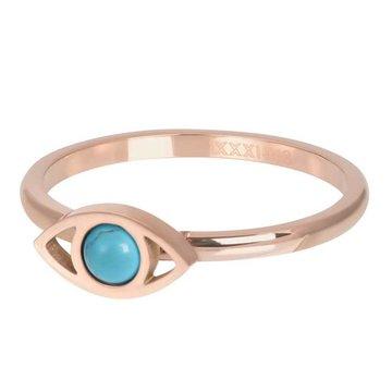 iXXXi Jewelry iXXXi Jewelry Losse Ring Lucky Eye Rosé