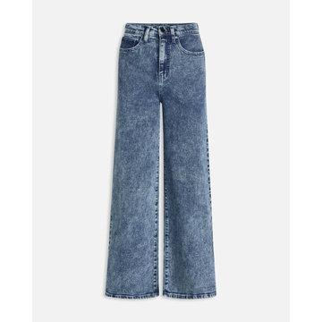 Sisters Point SisterSpoint Owi Wide Jeans Medium Blue