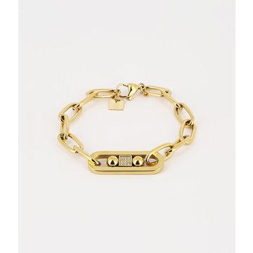 Zag Bijoux Zag Bijoux Merleau Armband Goudkleurig