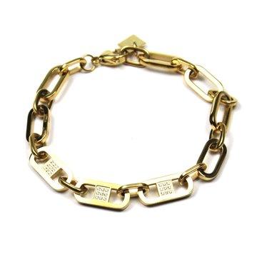 Zag Bijoux Zag Bijoux Luxury Chain Armband Goudkleurig