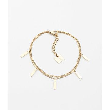 Zag Bijoux Zag Bijoux Miko Armband Goudkleurig