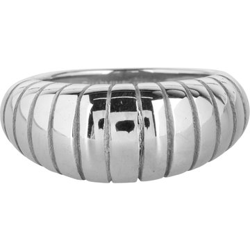 Charmin*s Charmin's R997 Big Stripy Steel Ring