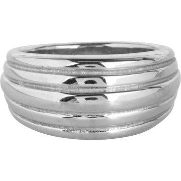 Charmin*s Charmin's R991 Chunky Stripes Steel Ring