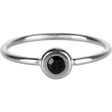 Charmin*s Charmin's R956 Donut steel and black crystal