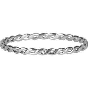 Charmin*s Charmin's R774 Curvy Tiny Chain Shiny Steel