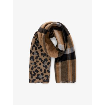 Pieces Pieces PC Felora Long Scarf BC Otter Two Sided