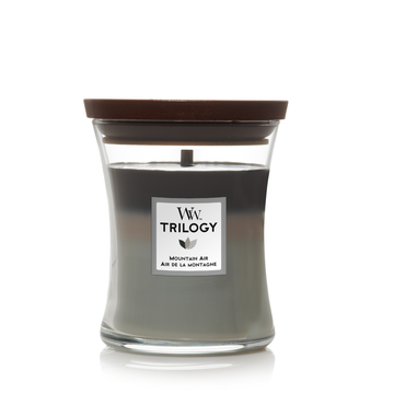 WoodWick Woodwick Trilogy Mountain Air Medium Candle
