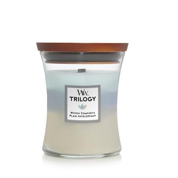 WoodWick Woodwick Trilogy Woven Comforts Medium Candle