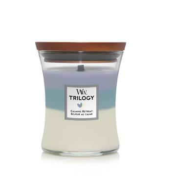 WoodWick Woodwick Trilogy Calming Retreat Medium Candle