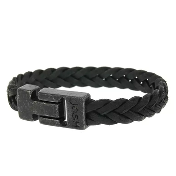 Josh Accessoires Josh Men Armband 24831-BRA VB/Black Maat L 21.5 cm