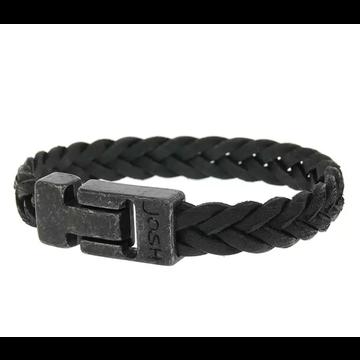 Josh Accessoires Josh Men Armband 24831-BRA VB/Black Maat L-1 20.5 cm