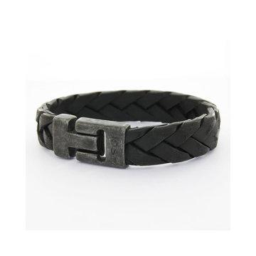 Josh Accessoires Josh Men Armband 24903 - BRA VB/BLACK Maat L-1 20.5 cm