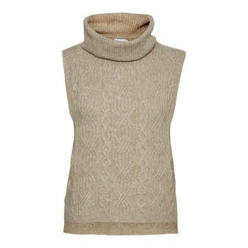 Noisy May Noisy May NM Asta Roll Neck Knit Vest Nomad