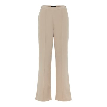 Pieces Pieces PC Bossy Wide Pants Silver Mink