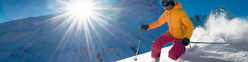 Smeren op wintersport