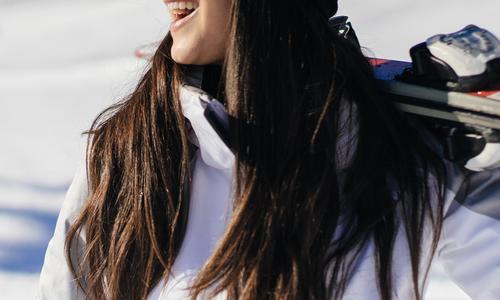 Wintersporten; dat betekent zonnebrand smeren!