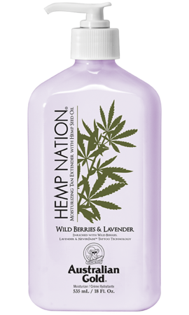 Australian Gold Hemp Nation Wild Berries & Lavender