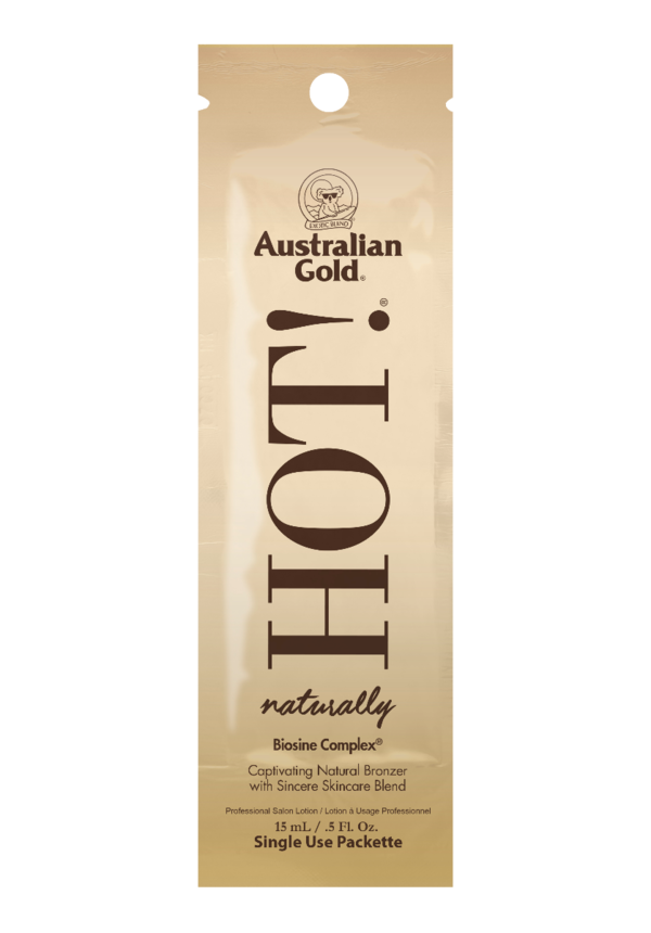Australian Gold Hot! with natural bronzer zonnebankcreme