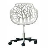 HKLiving Bureaustoel white design