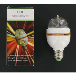 Multi-couleur RGB LED Tournez E27 3 Watt Petit