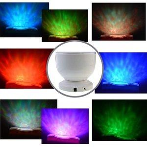 Projecteur LED RVB vague