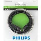Philips Câble SVGA vidéo 5 m mâle-mâle