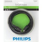 Philips Super-VGA (SVGA) videokabel – 5M – Male -> Male