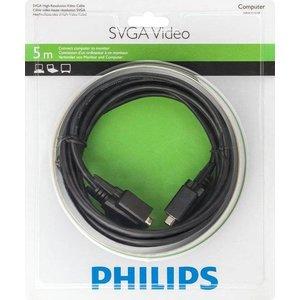 Philips SVGA-Videokabel 5 m Stecker-Stecker