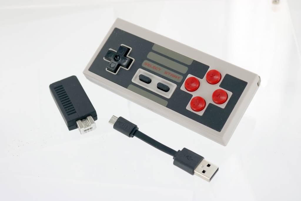 8Bitdo NES30 Controller SET with Mini NES Retro Receiver