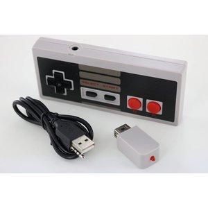 Manette sans fil avec mini batterie pour NES