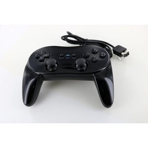 Controller wired Classic Pro Black for Wii