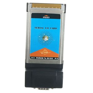 PCMCIA Seriell RS-232 DB9-Adapter-Karte
