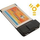 PCMCIA Firewire 2 ports Carte