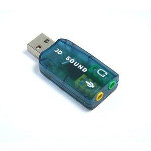 USB Sound Adapter 5.1 Audio Controller 3D-Spiel DVD