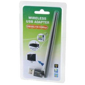 150Mbps Wireless LAN Adapter mit externer Antenne Ultra Mini