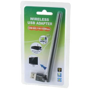 Wifi 150Mbps Ultra Mini Adapter met Externe Antenne