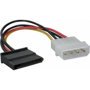 Molex zu 1x SATA-Stromkabel