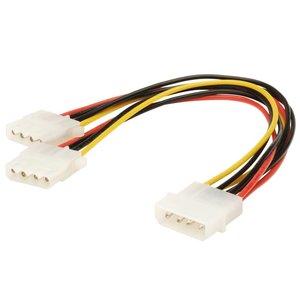 Molex to 2x Molex Splitter Cable