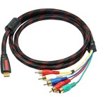 Câble HDMI vers Composant 1,5 mètre