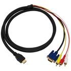 Câble HDMI vers VGA + RCA 1,8 mètre