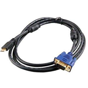 Mini HDMI vers VGA câble de 1.8 mètre