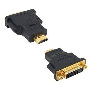 HDMI mâle vers DVI 24 +1 adapteur femelle